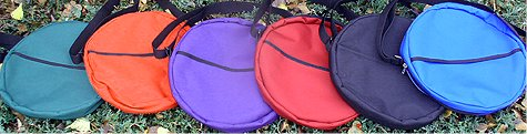 Drum bags are available in 4 sizes and 6 colors!